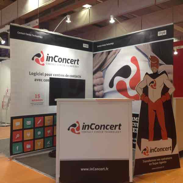 Stand 4 m2 paris porte de versailles 2015 soli 39 expo - Salon emarketing paris ...