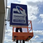 Enseigne-Lumineuse-Fédération Francaise-de-Cyclisme-soliexpo-komis-plv-signaletique