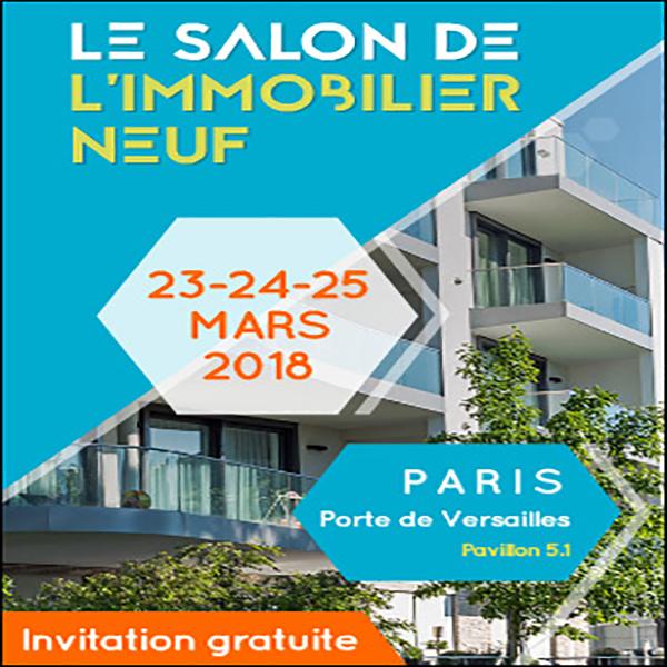 Salon de l immobilier neuf 2018 soli 39 expo for Salon de immobilier