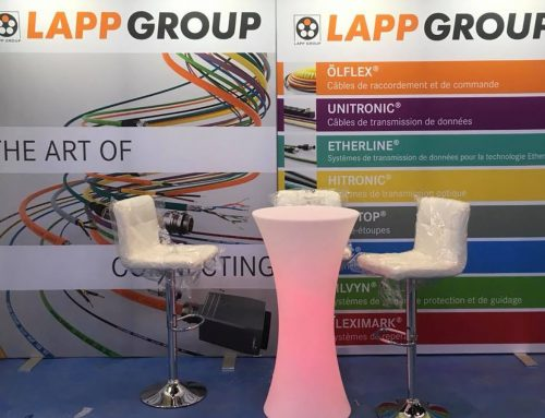 STAND 12 M² LAPP GROUP SALON GLOBAL INDUSTRIE 2018