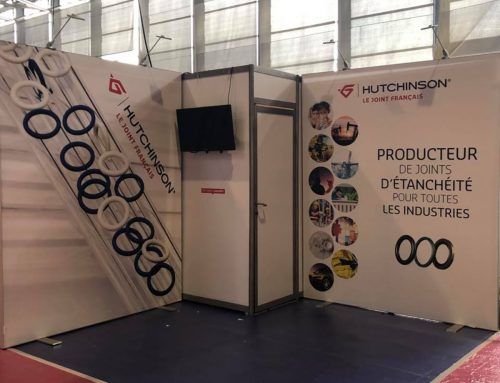 STAND HUTCHINSON9m² SEPEM INDUSTRIES GRENOBLE 2018